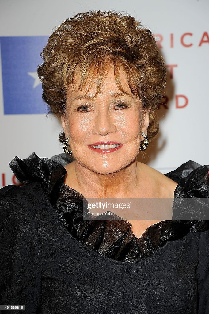 US Senator Elizabeth Dole attends 2015 National WWII Museum's American Spirit Award Gala at Cipriani Wall Street on February 24, 2015 in New York City.