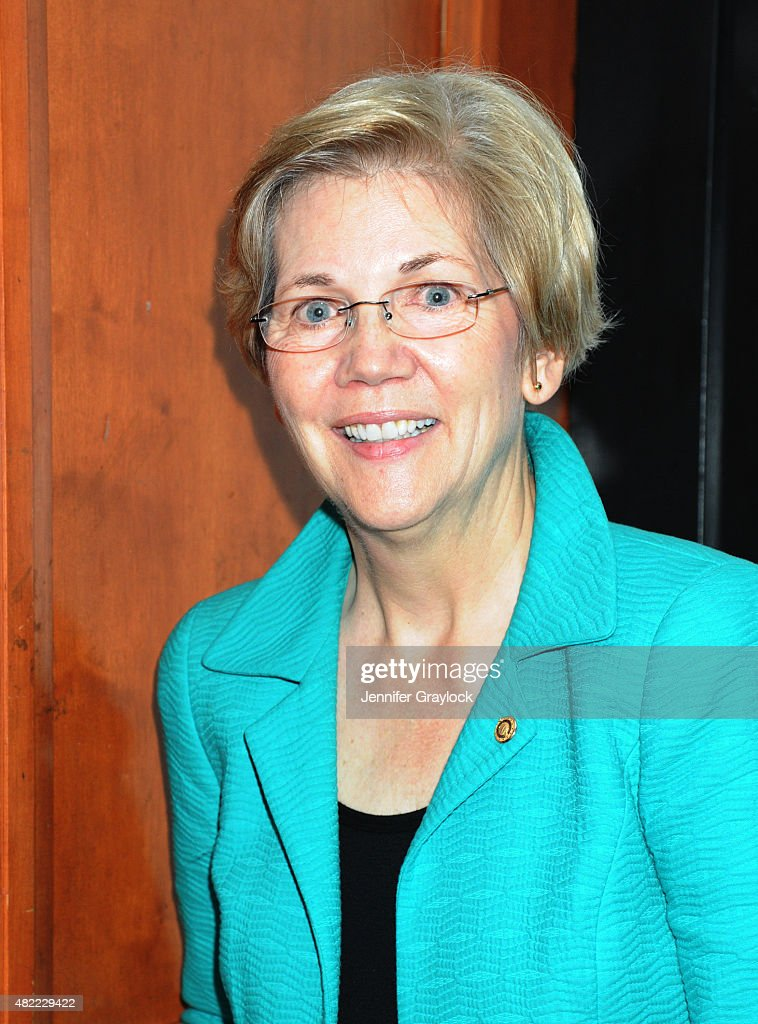 Senator Elizabeth Warren (D-MA) attends the Planned Parenthood Generation Conference opening ceremony and welcome reception at the Marriott Wardman Park Hotel on July 8, 2015 in Washington, DC.