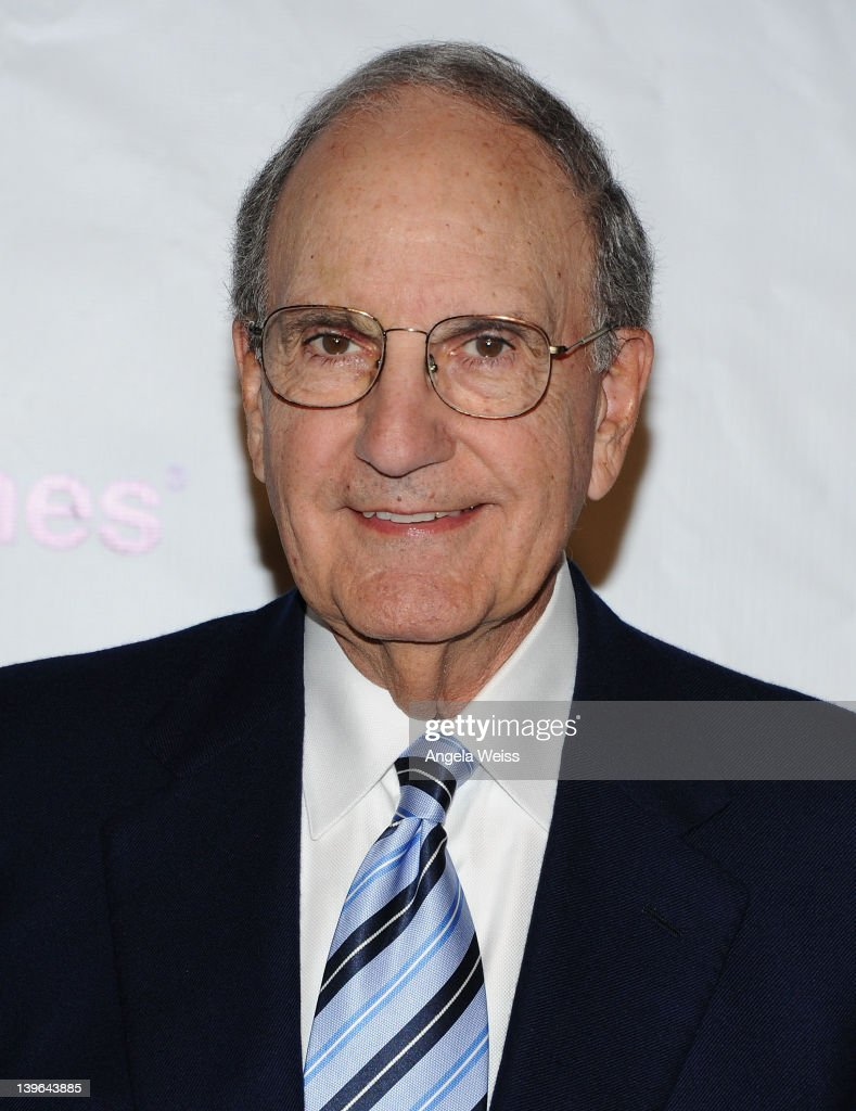Senator George Mitchell arrives at the 7th Annual 'Oscar Wilde: Honoring The Irish In Film' Pre-Academy Awards Event at Bad Robot on February 23, 2012 in Santa Monica, California.