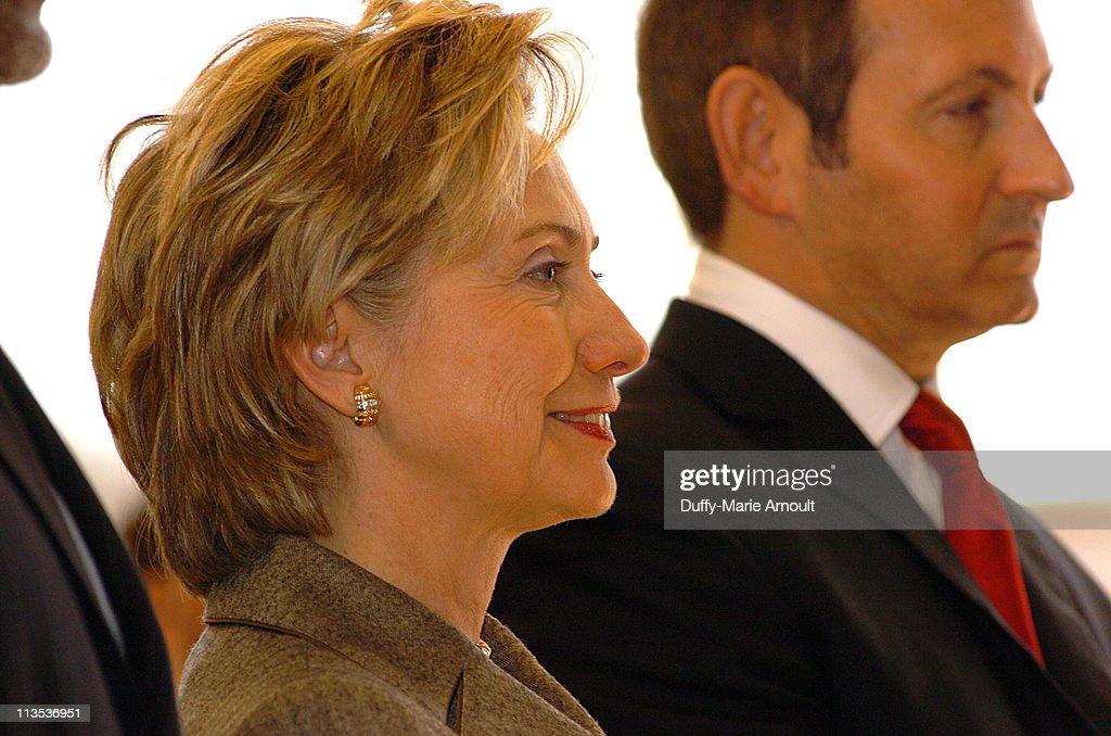 Senator Hillary Rodham Clinton and John Demsey In celebration of Black History Month Senator Hillary Rodham Clinton hosted her 5th annual African...