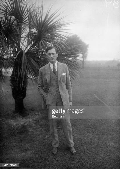 Senator James J Walker Mayor elect of New York resting in Florida after his strenuous campaign and in preparation for assuming the duties in his new...