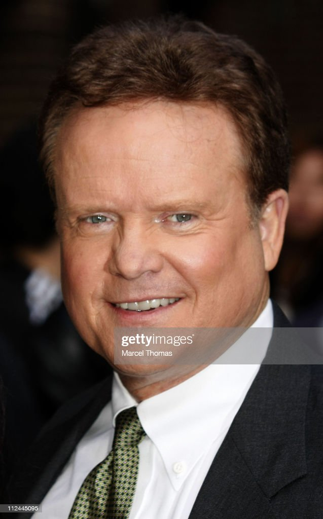 US Senator <a gi-track='captionPersonalityLinkClicked' href=/galleries/search?phrase=Jim+Webb&family=editorial&specificpeople=3986302 ng-click='$event.stopPropagation()'>Jim Webb</a> visits 'Late Show with David Letterman' at the Ed Sullivan Theater on May 19, 2008 in New York City.