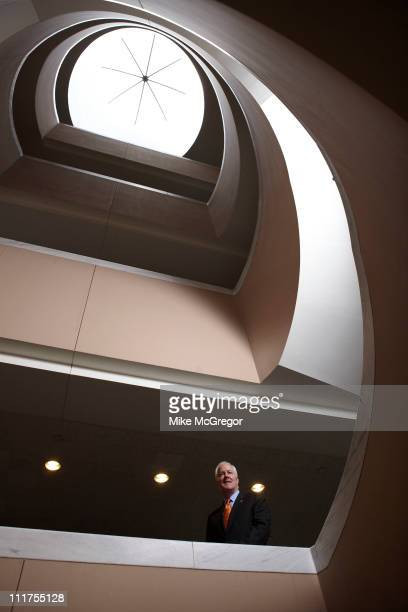 Senator John Cornyn is photographed for Texas Monthly Magazine on July 21 2010 in Washington DC