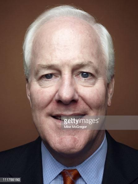 Senator John Cornyn is photographed for Texas Monthly Magazine on July 21 2010 in Washington DC