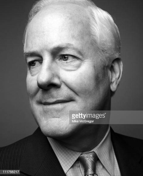 Senator John Cornyn is photographed for Texas Monthly Magazine on July 21 2010 in Washington DC Published Image