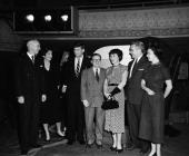 PRESS 'Senator John F Kennedy' Aired Pictured uknown Jacqueline Kennedy Senator John F Kennedy Lawrence Spivak unknowns