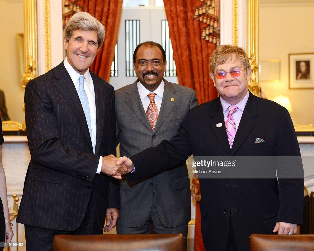The Elton John AIDS Foundation and UNAIDS Breakfast