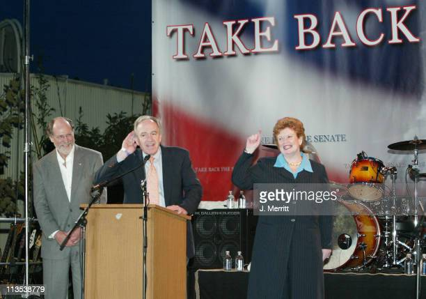 Senator Jon Corzine Senator Debbie Stabenow and Senator Tom Harkin