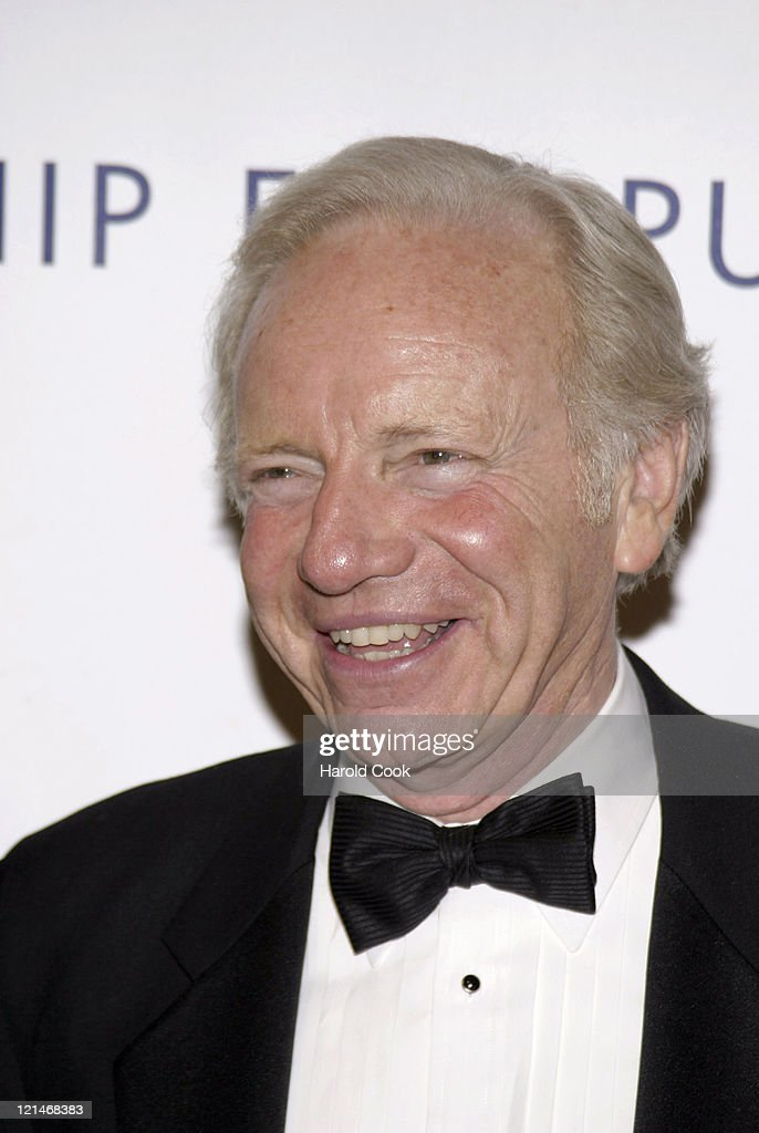 Senator <a gi-track='captionPersonalityLinkClicked' href=/galleries/search?phrase=Joseph+Lieberman&family=editorial&specificpeople=236098 ng-click='$event.stopPropagation()'>Joseph Lieberman</a> during The Partership for Public Service Gala - December 11, 2006 at Cipriani in New York City, New York, United States.