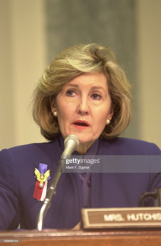 Senator Kay Bailey Hutchinson (R-Texas) commenting about the necessity of safe air travel into and out of Regan National Airport on Thursday.