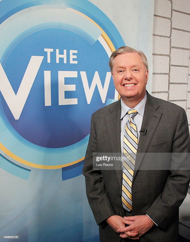 THE VIEW - Senator Lindsay Graham is the gust today, Tuesday, September 29, 2015 on ABC's 'The View.' 'The View' airs Monday-Friday (11:00 am-12:00 pm, ET) on the ABC Television Network.