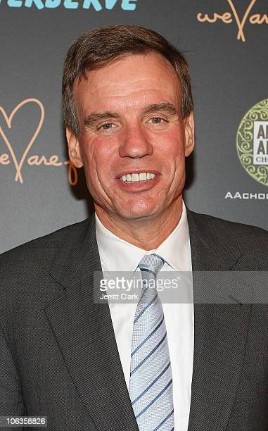 S Senator Mark Warner of Virginia attends the We Are Family Foundation 8th Annual Celebration Gala at Hammerstein Ballroom on October 26 2010 in New...