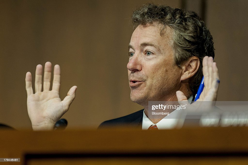Rand Paul Senate Hearing On Apple