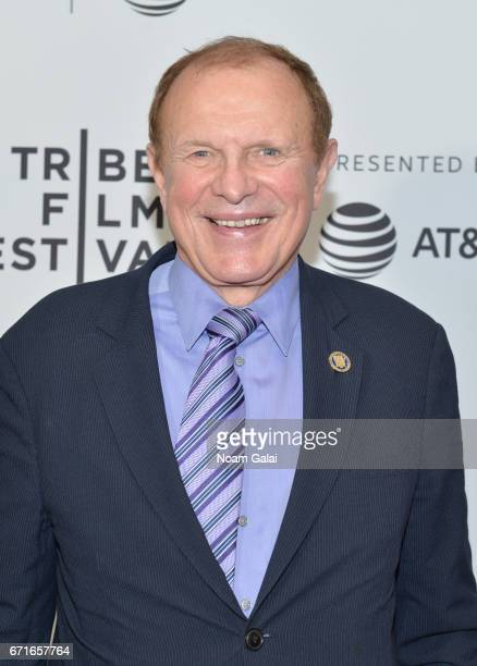 Senator Raymond Lesniak attends 'The Last Animals' Premiere during 2017 Tribeca Film Festival at Cinepolis Chelsea on April 22 2017 in New York City