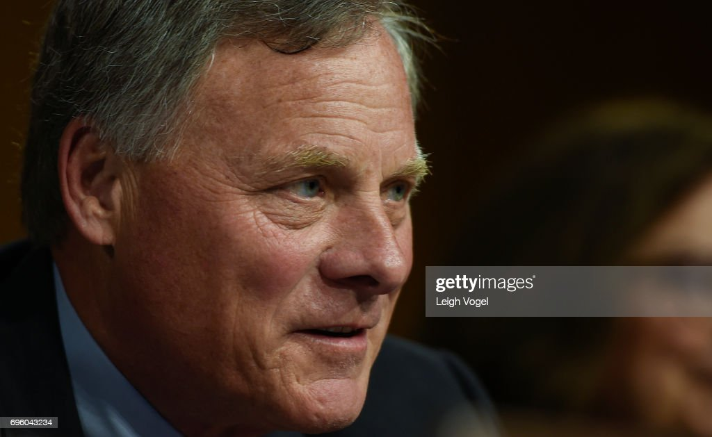 Senator Richard Burr (R-NC) speaks during the Senate Special Committee on Aging hearing on 'Military Caregivers: Families Serving for the Long Run' on June 14, 2017 in Washington, DC.