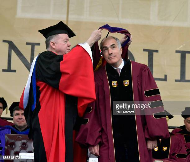 Senator Robert Casey received an Honorary Doctor of Laws Degree and was the Commencement Speaker at the Boston College 2017 141st Commencement...