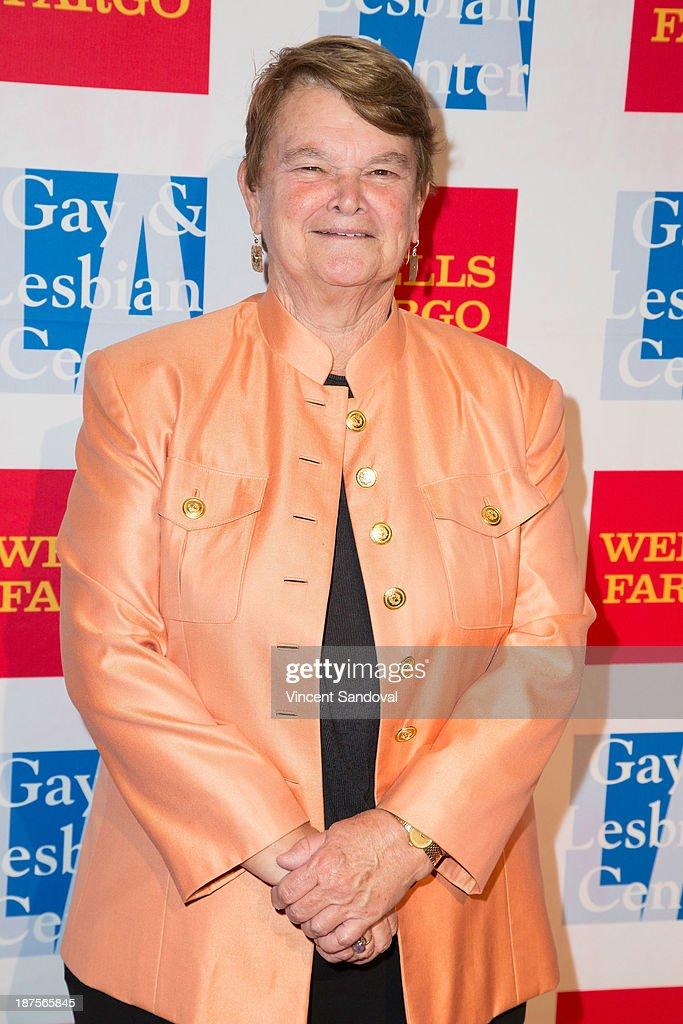 Senator Sheila James Kuehl attends the L.A. Gay & Lesbian Center's 42nd anniversary Vanguard Awards Gala - Arrivals at Westin Bonaventure Hotel on November 9, 2013 in Los Angeles, California.