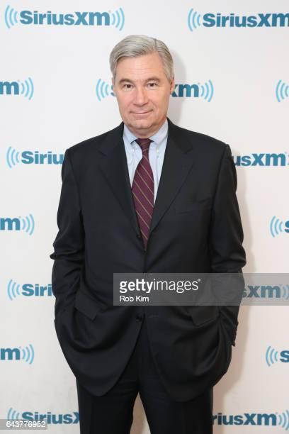 Senator Sheldon Whitehouse visits at SiriusXM Studios on February 22 2017 in New York City