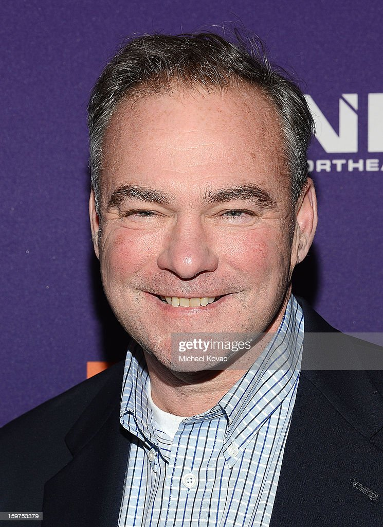 Senator Tim Kaine attends the Inaugural Youth Ball hosted by OurTime.org at Donald W. Reynolds Center on January 19, 2013 in Washington, United States.