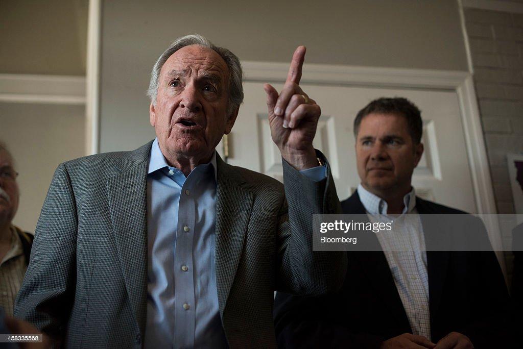 Democrat Bruce Braley Campaigns Ahead Of Senate Midterm Elections