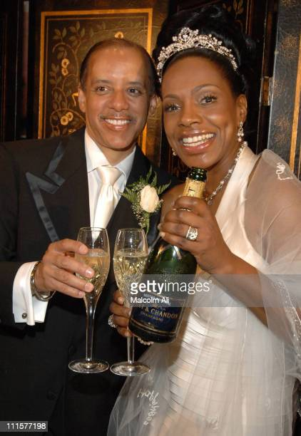 Senator Vincent Hughes and Sheryl Lee Ralph during The Marriage Ceremony Uniting Ms Sheryl Lee Ralph and The Hon Senator Vincent Hughes at First AME...