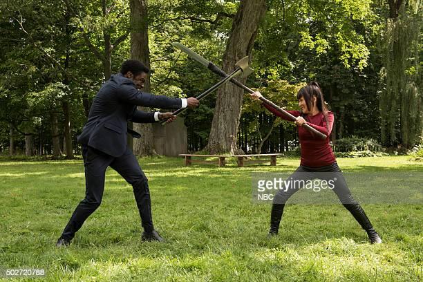 REBORN 'Send in the Clones' Episode 111 Pictured Clé Bennett as Harris Prime Kiki Sukezane as Miko Otomo