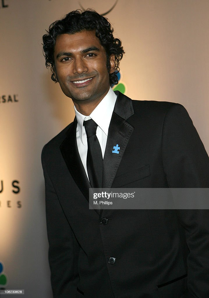 Sendhil Ramamurthy during Focus Features and Universal's 2007 Golden Globe After Party - Arrivals at Beverly Hilton in Los Angeles, California, United States.