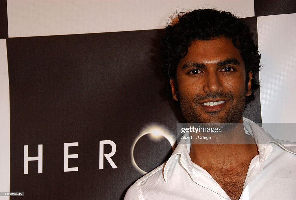 Sendhil Ramamurthy during Wrap Party for NBC's 'Heroes' - Arrivals at Cabana Club in Hollywood, California, United States.