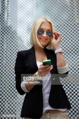 Sending a message : Stock Photo