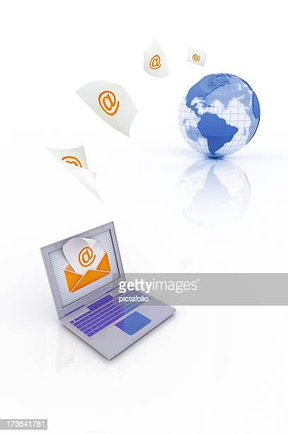 Senden Sie E-Mails
