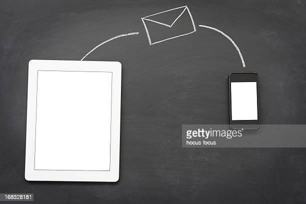 Enviándole mensajes con tecnología inalámbrica
