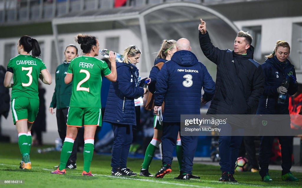 Slovakia v Republic of Ireland - 2019 FIFA Women's World Cup Qualifier