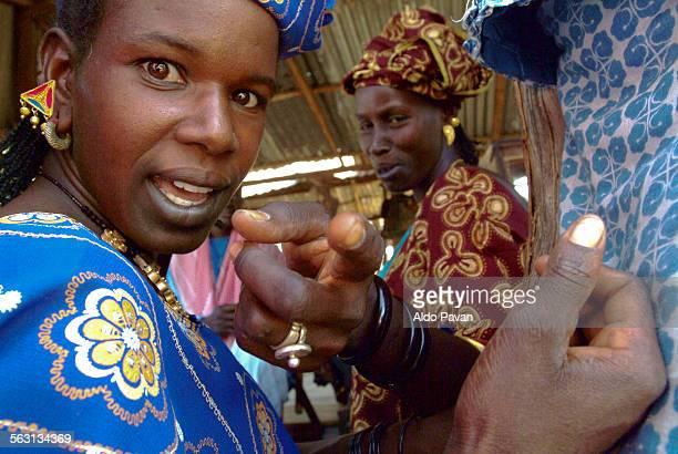Senegal, Momar Sar, weekly market