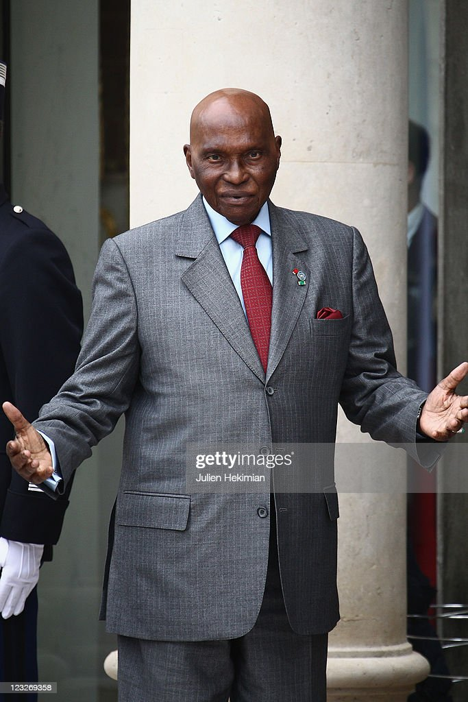 Senegalese President Abdoulaye Wade attends the 'Friends of Libya' International Conference at Elysee Palace on September 1, 2011 in Paris, France. The international meeting, chaired by President Sarkozy, is expected to hear the constitutional plan outlined by the Libyan National Transitional Council.
