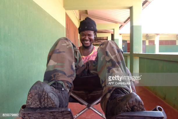 Senegalese rapper and DJ Louis Bernard Diedhiou who stepped on a mine in 2001 the legacy of longrunning battles between the Senegalese army and...