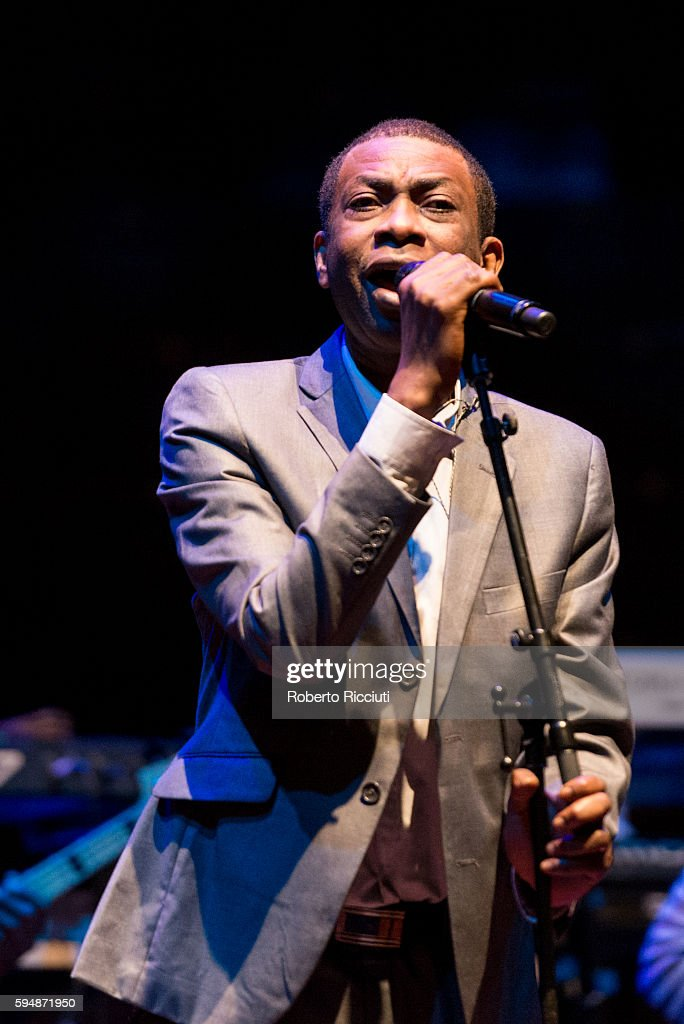 Youssou N'Dour Performs At Usher Hall In Edinburgh
