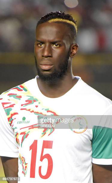 Senegal's defender Salif Sane is pictured prior to the 2019 Africa Cup of Nations qualifying football match between Senegal and Equatorial Guinea in...