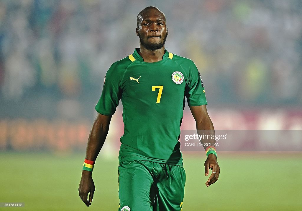 Senegal's forward <a gi-track='captionPersonalityLinkClicked' href=/galleries/search?phrase=Moussa+Sow&family=editorial&specificpeople=2336264 ng-click='$event.stopPropagation()'>Moussa Sow</a> attends the 2015 African Cup of Nations group C football match between Ghana and Senegal in Mongomo on January 19, 2015.
