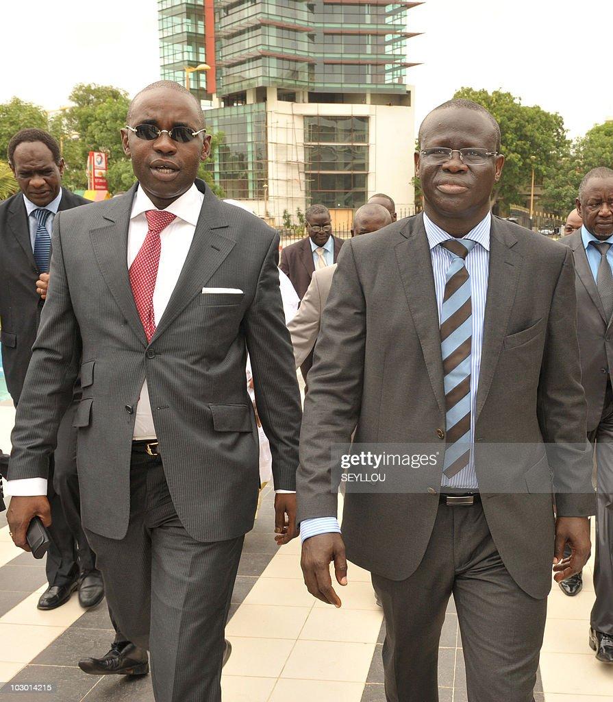 Senegal's Minister of Energy Samuel Sarr : Nyhetsfoto