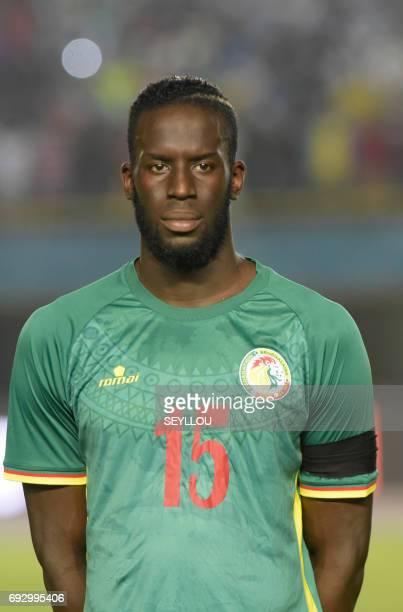 Senegal's Salif Sane is pictured prior to the friendly football match between Senegal and Uganda at Leopold Sedar Senghor stadium in Dakar on June 5...