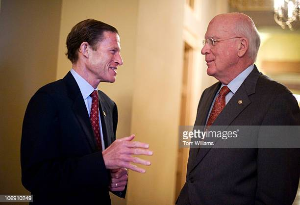 Image result for photos of senators blumenthal and leahy