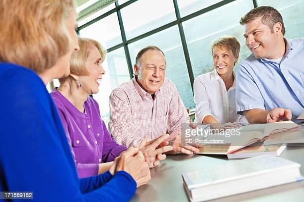 Senior Adult group book study