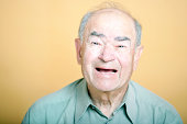 Senior Adult man laughing