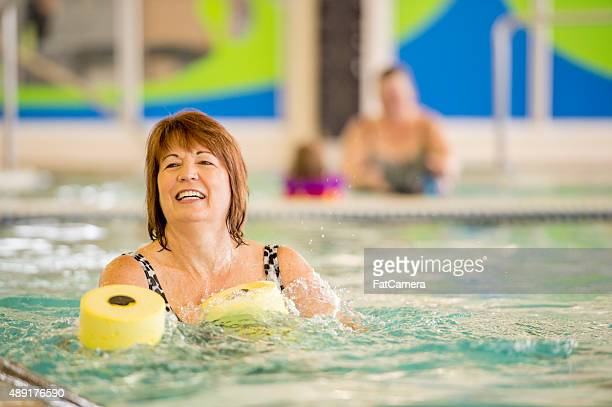 Senior Adult Pool Exercises