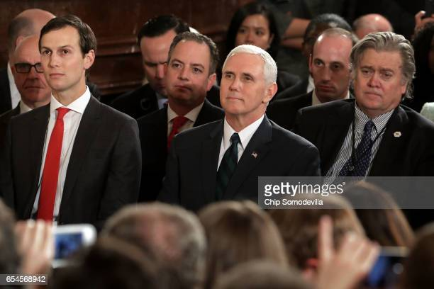 Senior Advisor to the President Jared Kushner White House Chief of Staff Reince Priebus Vice President Mike Pence Senior Advisor to the President for...