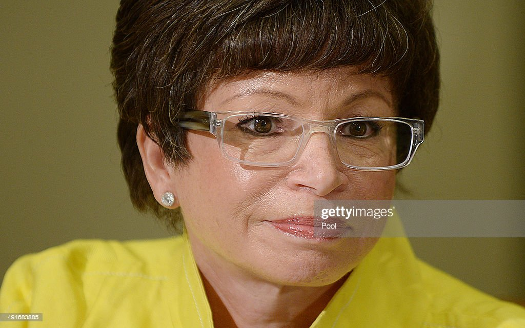 Senior Advisor to the President Valerie Jarrett attends the My Brother's Keeper Task Force to receive a 90day report on its progress in the Roosevelt...