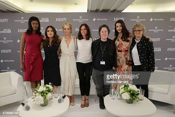 Senior Advisor to Under SecretaryGeneral UN Women Elizabeth Nyamayaro actors Salma Hayek and Parker Posey producers Elizabeth Karlsen and Christine...