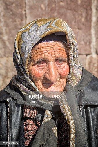 Senior Armenian Woman, Noratus, Armenia