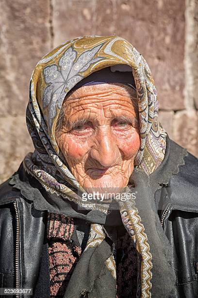 Senior Armenian Woman, Noratus, Armenia
