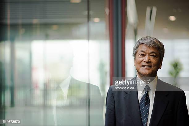 Senior Asian business executive